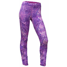 The North Face Motus III Tights Women wood violet oil spill print